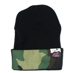 1stclass_camo patch beanie