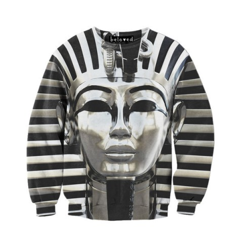 Walk like an Egyptian. Or wear a Pharaoh, whatever works for you.