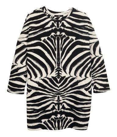hm_zebra sweatshirt