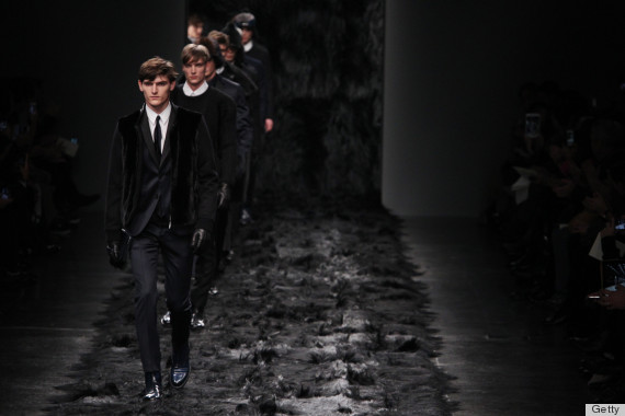 Fendi - Runway - Milan Fashion Week Menswear Autumn/Winter 2014